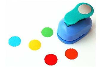 (Waves Round) - CADY Crafts Punch 2.5 cm paper punches paper punch flower (Waves Round)