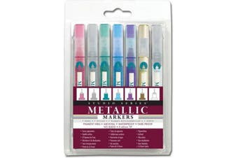 Studio Series Micro-Line Metallic Markers (Set of 7)