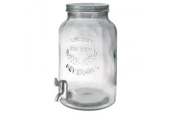(No Stand, 1.5 Gallon) - Artland Oasis Beverage Dispenser Jar, 5.7l, Clear