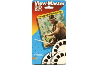 ViewMaster - The Legend of Indiana Jones - 3 Reels - New