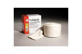 Tubigrip 1437 Bandage, Tubular Elastic, 10 m Roll, Size D, Large Arm/Medium Ankle, Natural Shade