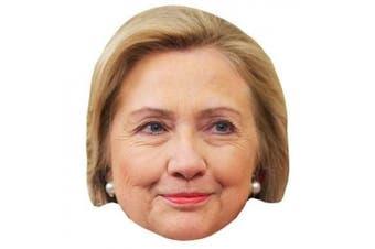 Hillary Clinton Celebrity Mask, Cardboard Face and Fancy Dress Mask