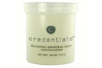 Credentials Relaxing Mineral Salts W/ Essential Oils & Antioxidants 530ml