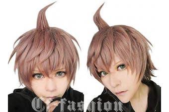 (Naegi Makoto) - Cf-fashion Danganronpa Dangan-ronpa 2 Naegi Makoto Anime Cosplay Wig (Need Style by Yourself)