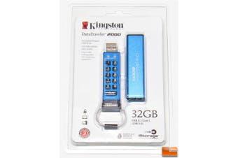 32GB DataTraveler 2000 USB 3.1 Flash Drive