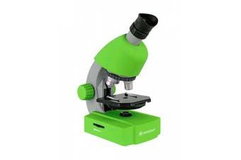 Bresser 40 - 640x Junior Microscope - Green