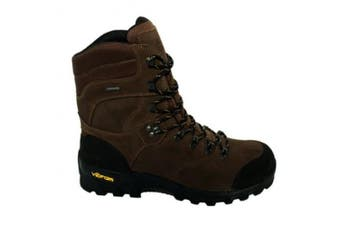 (7 UK, Brown) - AIGLE Altavio High ankle Gore Tex Waterproof Hiking Boots - hard wearing sole
