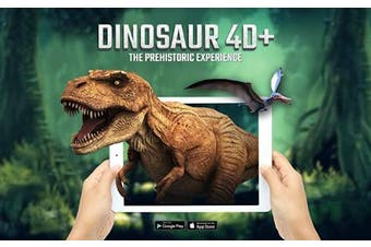 Dinosaurs 4D+ Augmented Reality Flashcards by Octagon Studio