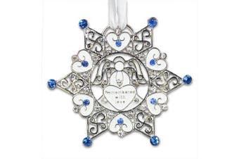 Bereavement Sympathy Memorial Snowflake Christmas Ornament