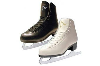 (1, Black) - American Athletic Shoe Boy's Tricot Lined Figure Skates, Black, 1
