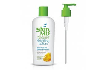 240ml Skin MD Natural Shielding Lotion with Dispenser for the Face, Body & Hands