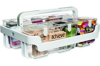 (White) - Caddy Organiser W/Small, Medium & Large Compartments