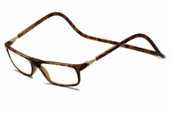 (3.00, Tortoise) - CliC Executive Reading Glasses -- CliC Magnetic Readers; Tortoise (3.00, Tortoise)