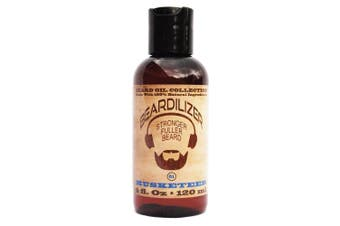 Beardilizer ® Beard Oil Collection - #1 Musketeer 120ml - Made with 100% Natural Ingredients