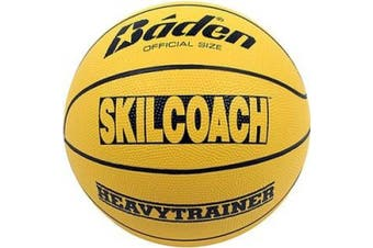 (28.5-Inch) - Baden SkilCoach Official Heavy Trainer Rubber Basketball, 70cm