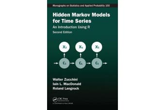 Hidden Markov Models for Time Series: An Introduction Using R, Second Edition (Chapman & Hall/CRC Monographs on Statistics and Applied Probability)