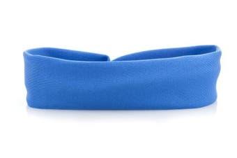 (Royal Blue) - Girls Ballet Dance Sports Lycra Headband By Katz Dancewear All Colours