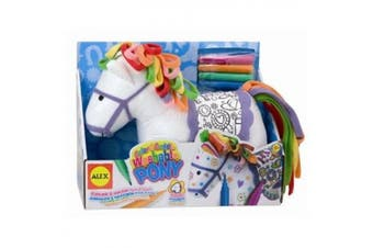 Alex Colour and Cuddle Washable Pony