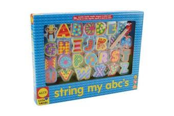 ALEX Toys Little Hands String My ABC's