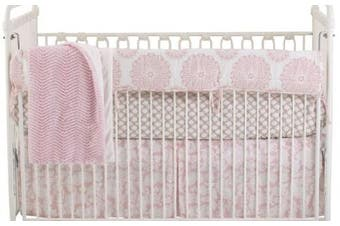 Cotton Tale Designs Front Cover Up Bedding Set, Sweet and Simple Pink