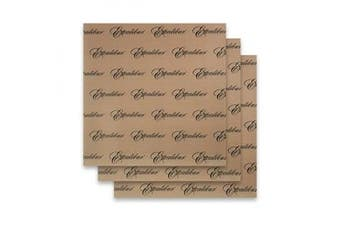 Set of 3 - 36cm x 36cm - Excalibur Food Dehydrator Re-usable Non-stick Sheet - ParaFlexx Ultra Sheets