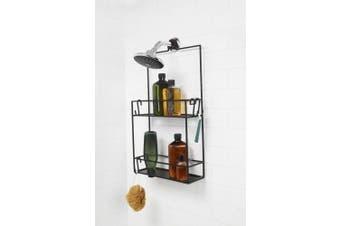 (black) - Umbra 023461 040 Cubiko Shower Basket/Caddy/Stand/Rack, Black