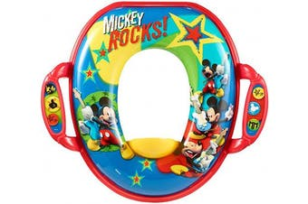 (Mickey Mouse) - The First Years Mickey Soft Potty Seat by The First Years
