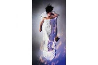 (240cm  x 4cm , Natural) - Cocoon Silk-Cotton MummyLiner (Natural, 240cm x 4cm )