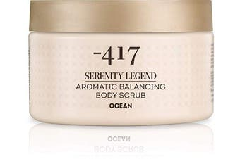 -417 Aromatic Body Scrub Ocean – Precious Mineral Complex – Dead Sea Minerals- Aromatic Vegan Body Exfoliator for All Skin Types