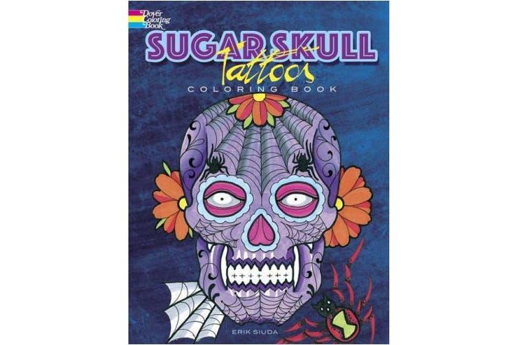 Sugar Skull Tattoos Coloring Book