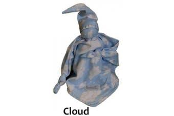 (Cloud) - Snoedel NICU Newborn Preemie Baby Sleeping Bonding Aid Snuggle Blanket (Cloud)