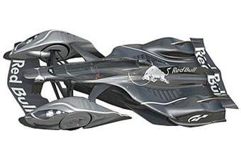Red Bull X2014 Fan Car Sebastian Vettel Dark Silver Metallic 1/18 by Autoart 18116