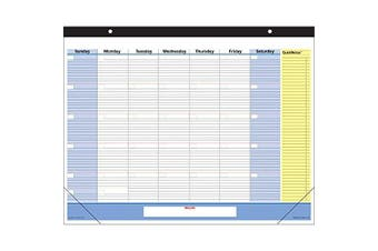 SK701-00 QuickNotes Undated Monthly Desk Pad Calendar - 60cm x 43cm