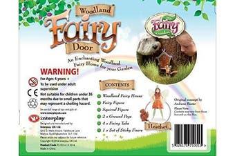 My Fairy Garden Woodland Fairy Door Toy (Multi-Colour)