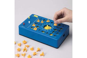 """TimeShock Game-Retro Timed Fun Board Game, Game Unit with Timer and Pop-up Tray - Game Measures 9"""" x 5"""" x 2"""""""