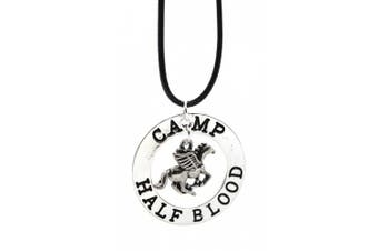 The Last Olympian Camp Half-Blood Percy Jackson Pegasus Zeus Half Blood Necklace