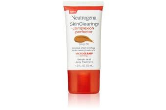 (Deep) - Neutrogena Skinclearing Complexion Perfector With Salicylic Acid, Deep, 30ml