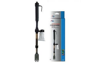 AQUA WORLD Motor driven cleaner extendable 53~82cm - water Syphon Gravel coral sand Battery