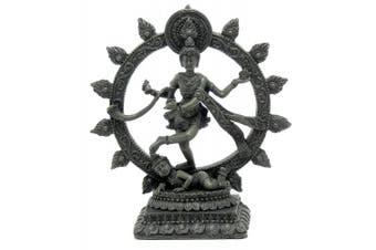 Dancing Shiva Natraj Statue - Antique Colour Finish - 15cm Statue