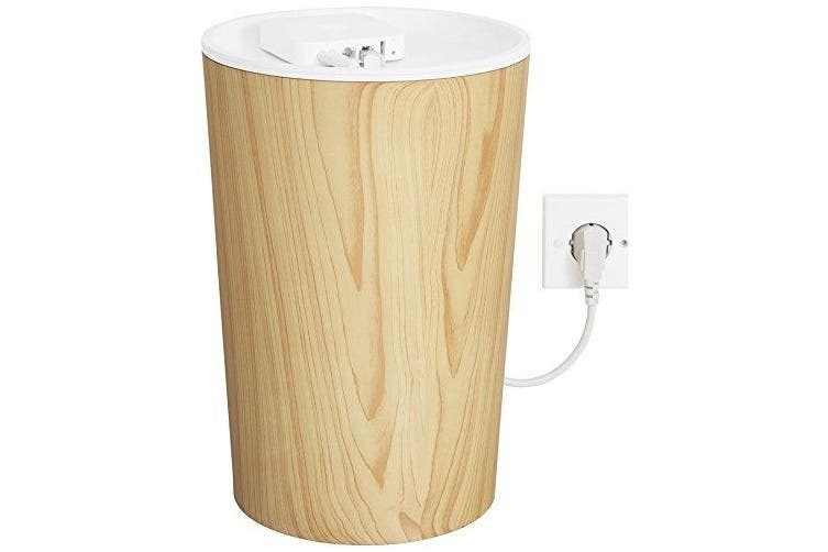 Bluelounge CableBin - Light Wood - Cable Management - Flame Retardant