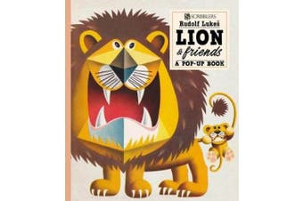 Lion And Friends: A Pop-Up Book (Scribblers Pop-Up Book) [Board book]