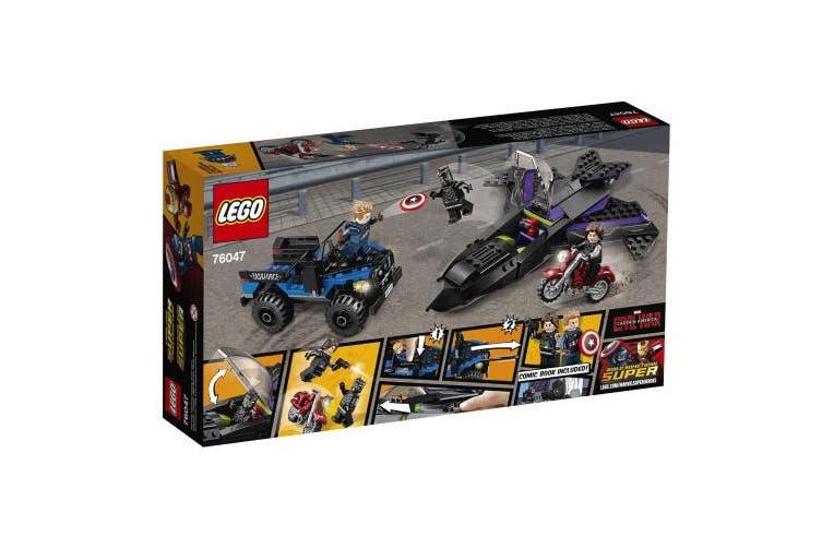 LEGO Super Heroes Black Panther Pursuit 76047