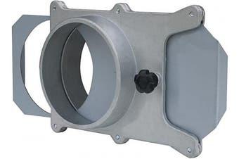 (10cm , ALUMINUM) - 70135 10cm Aluminium Blast Gate for Vacuum/Dust Collector