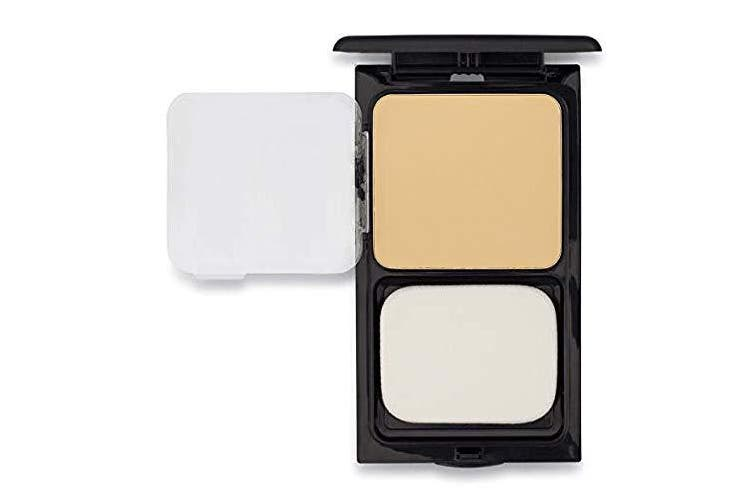 Buttercup Face Powder Compact by Sacha Cosmetics, Best Lightweight, Poreless, Oil Absorbent, Matte, Pressed Powder, suitable for All Skin Tones, 15ml