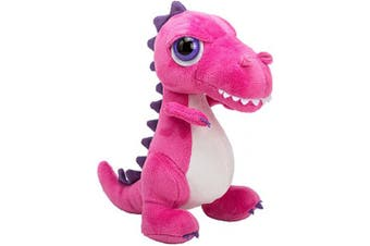(T-Rex, M, Pink) - Suki Gifts International T-Rex Dinoz Soft Dinosaur Plush Toy (Medium, Pink)