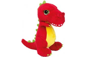 (T-Rex, S, Red) - Suki Gifts International T-Rex Dinoz Soft Dinosaur Plush Toy (Small, Red)