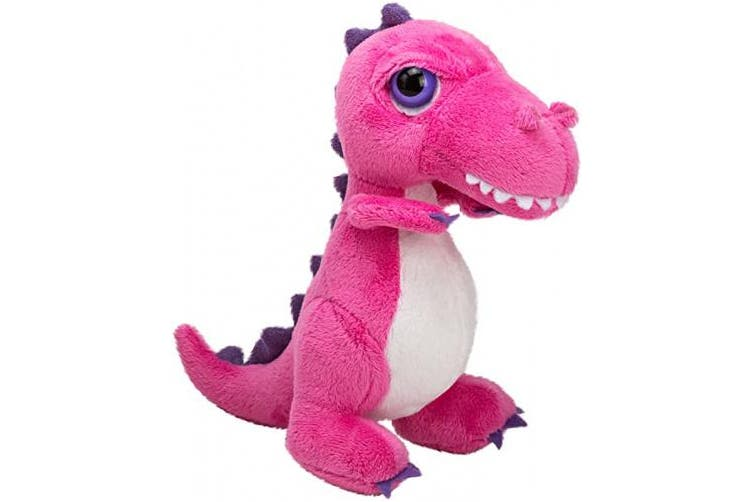 (T-Rex, S, Pink) - Suki Gifts International T-Rex Dinoz Soft Dinosaur Plush Toy (Small, Pink)