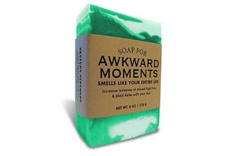 Awkward Moments 180ml Soap - Smells like your entire life by Whiskey River Soap Co.