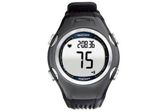 SPEQ Powered Pedometer and Calorie Heart Rate Monitor Watch Grey