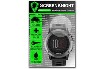 ScreenKnight® Garmin Fenix 3 Front Screen Protector invisible shield
